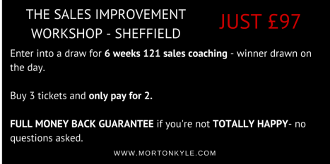 Sales Training Sheffield - Sales Improvement Workshop Sheffield