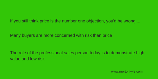 How to Balance Risk, Price and Value in Your Next Sales Demo