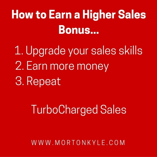 How to earn a higher sales bonus