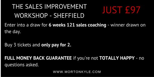 Sheffield Sales Training Skills Course - Lead Generation, Telesales, Direct Sales, Field Sales, Appointment Setters